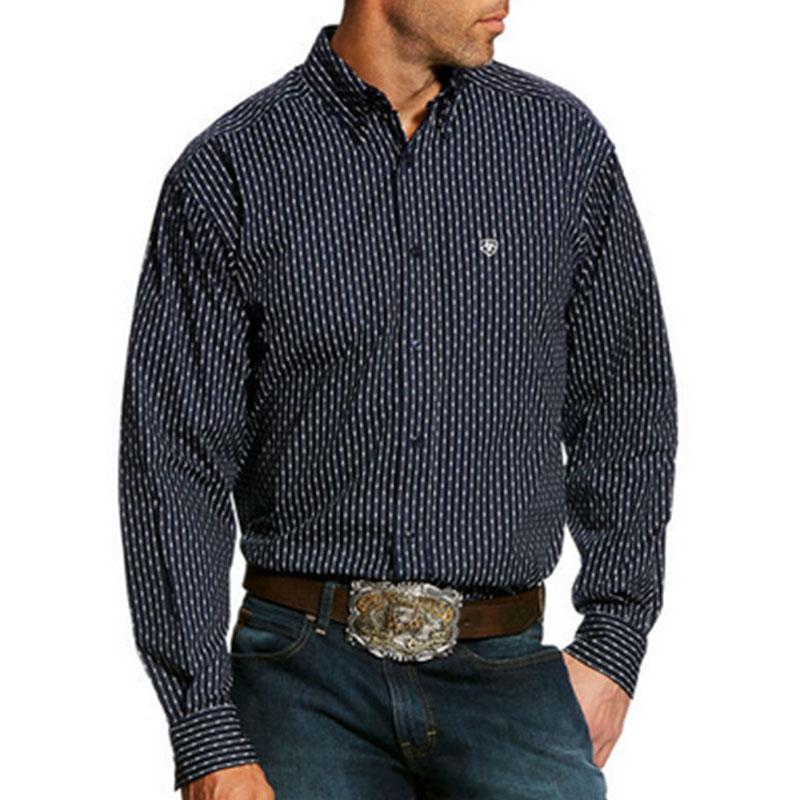 Mens Gazeman Long Sleeve Print Shirt