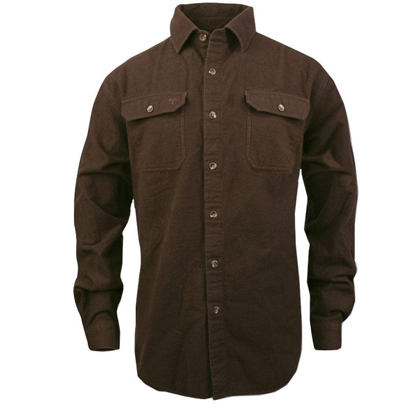 Mens Timber Chamois Long Sleeve Shirt