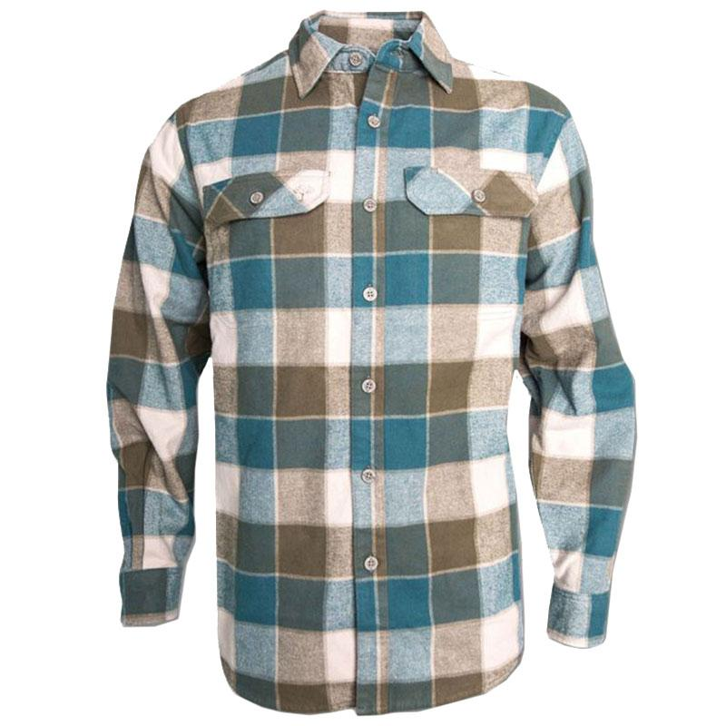 Men's Chargrin Flannel Shirt