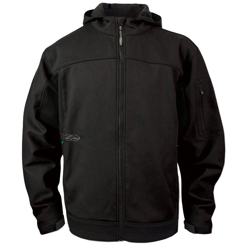Mens Hooded Stretch Cambium Jacket