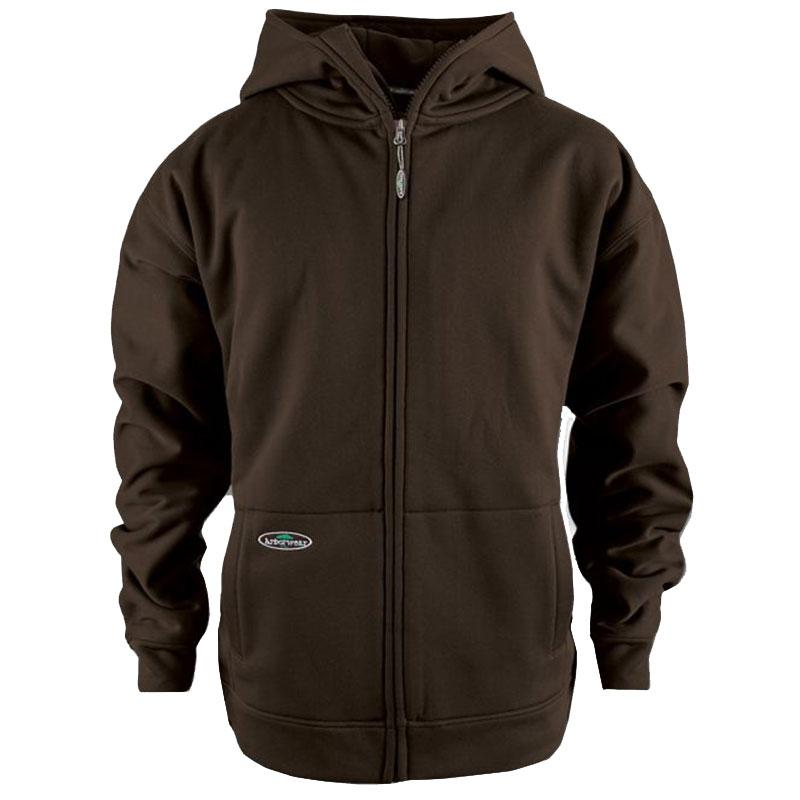Mens Tech Double Thick Full Zip Sweatshirt
