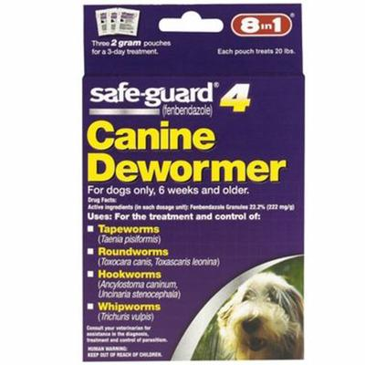 Safeguard 2gm Canine Dewormer 3-pack