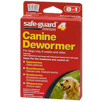 Safeguard 4gm Canine Dewormer 3-Pack