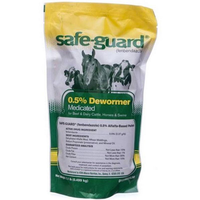 Safeguard 0.5 % Medicated Dewormer For Beef & Dairy Cattle - 1 Lb