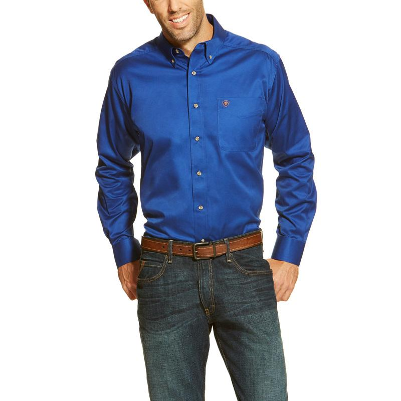 Men's Solid Twill Shirt