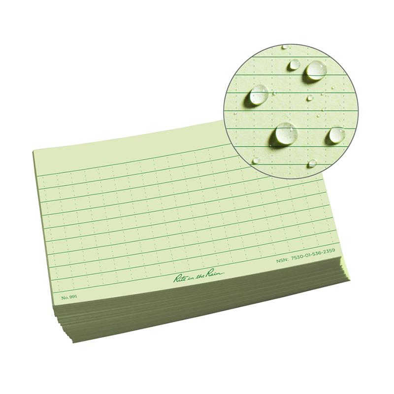All- Weather Index Cards
