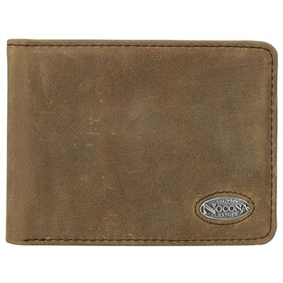 Nocona Distress Leather Bi-Fold Wallet