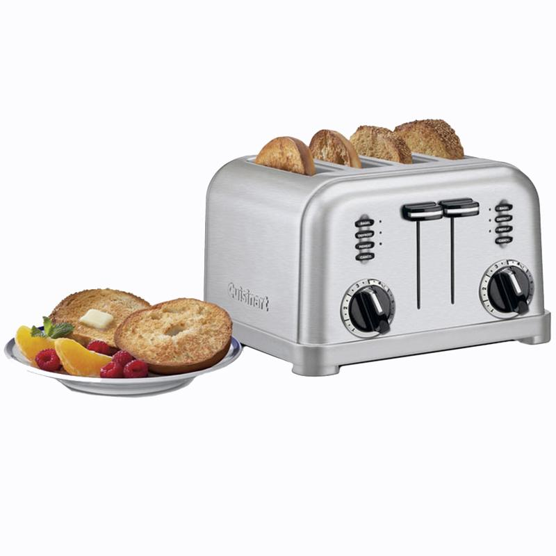 Metal Classic 4- Slice Toaster