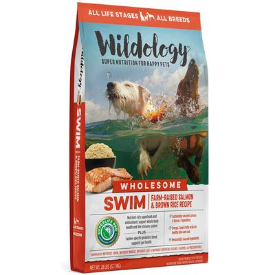 SWIM Farm-Raised Salmon & Brown Rice Dog Food