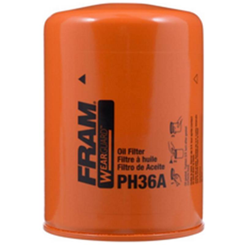 Wearguard Hd Spin- On Oil Filter Ph36a