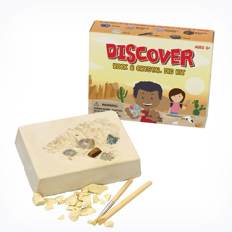 Rock And Crystal Excavation Kits