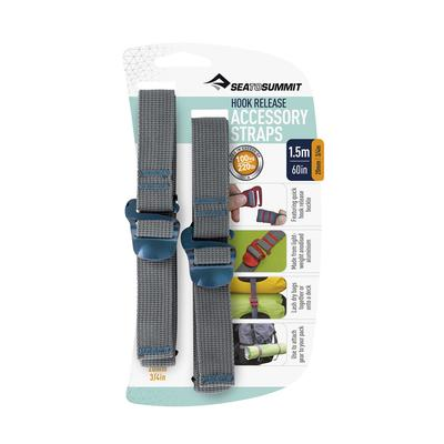 Accessory Straps with Hook Release
