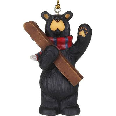 See You On The Slopes Bear Ornament