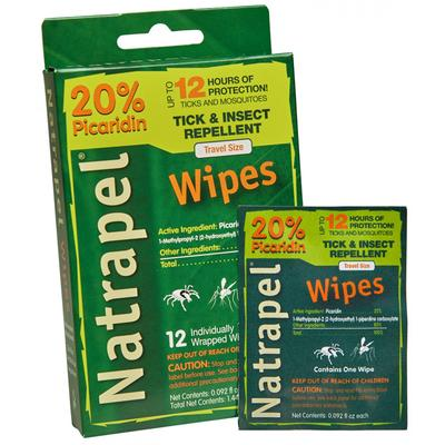 Natrapel® 12-hour Wipes
