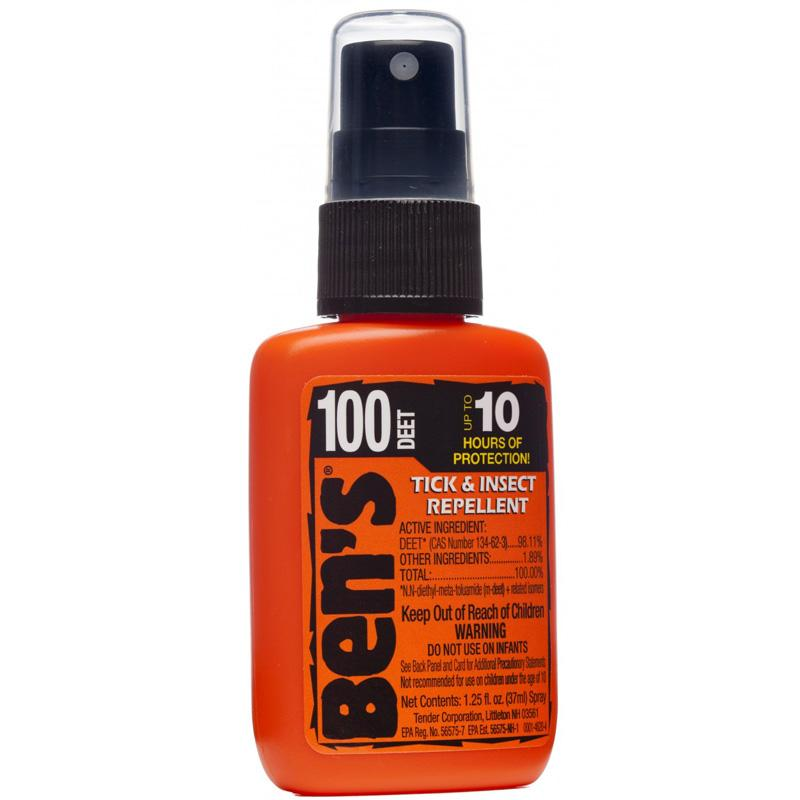 Ben's- 100 ® Tick & Insect Repellent 1.25oz Pump