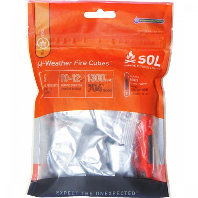 S.O.L.All- Weather Fire Cubes