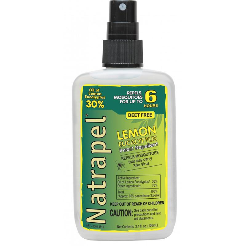 Natrapel ® Lemon Eucalyptus 3.4 Oz.Repellent