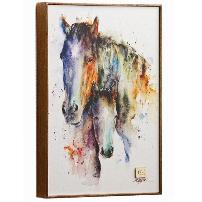 A Mother's Love Mare & Foal Wall Art