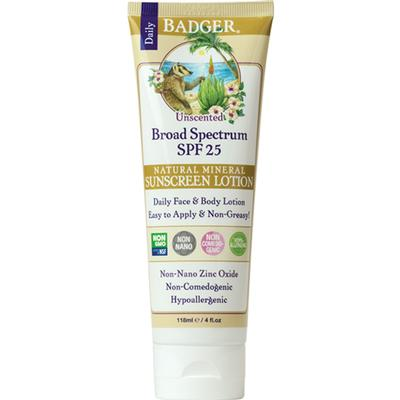 Unscented Sunscreen Lotion - SPF 25