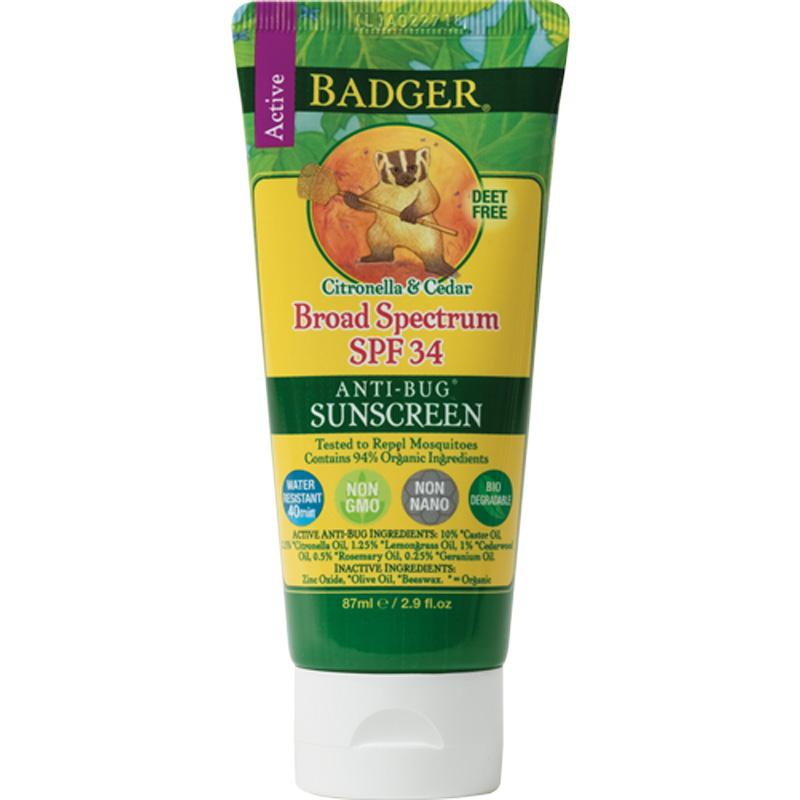Sunscreen Bug Repellent - Spf 34