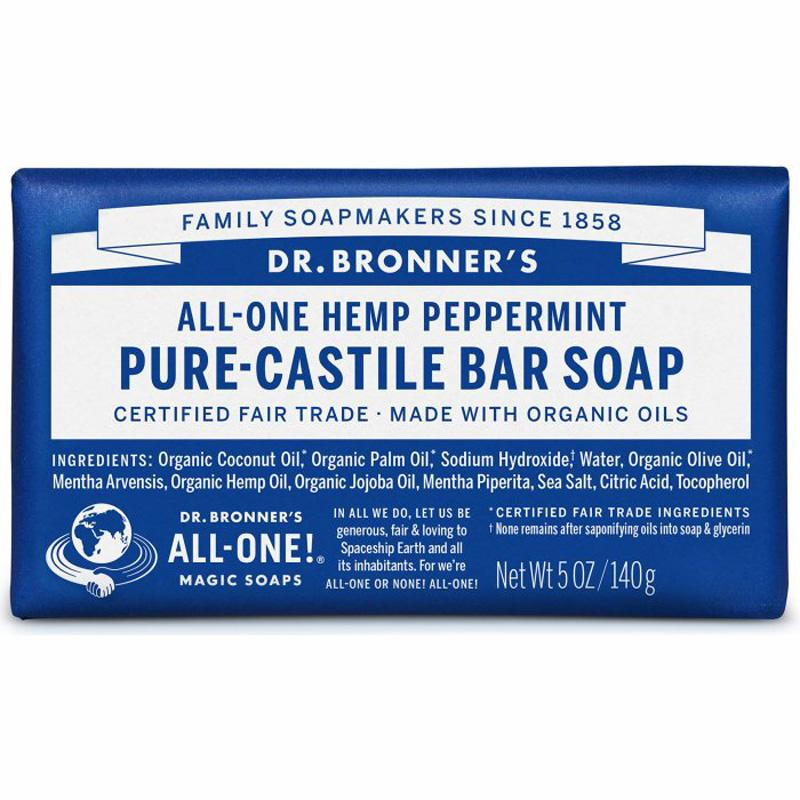 Pure- Castile Bar Soap - Peppermint