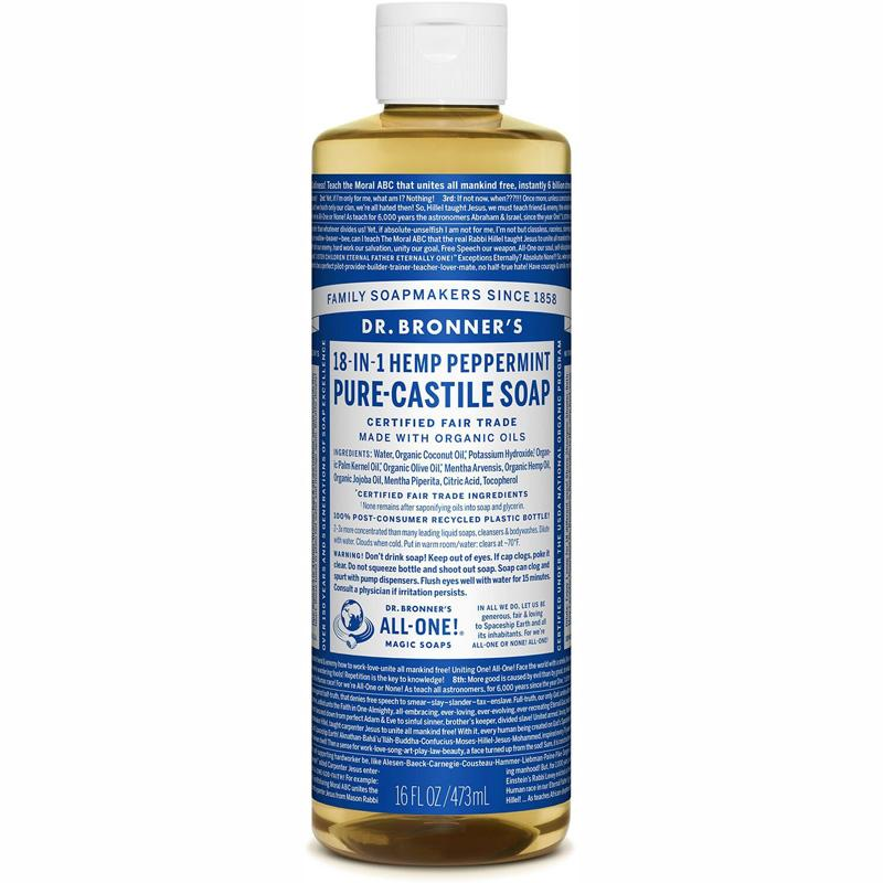 Pure- Castile Liquid Soap - Peppermint