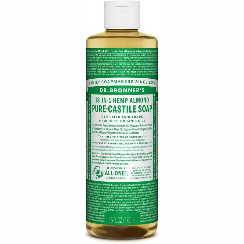 Pure- Castile Liquid Soap - Almond