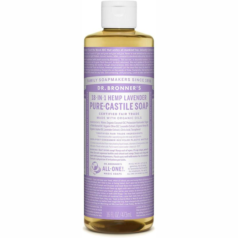 Pure- Castile Liquid Soap - Lavender