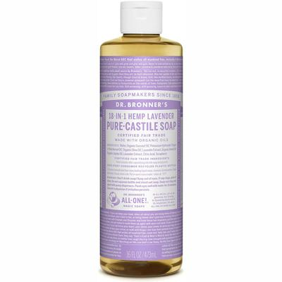 Pure-Castile Liquid Soap - Lavender