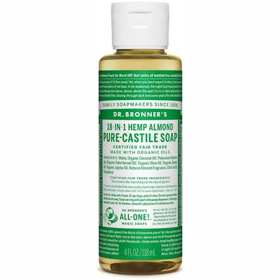 Pure-Castile Liquid Soap - Almond