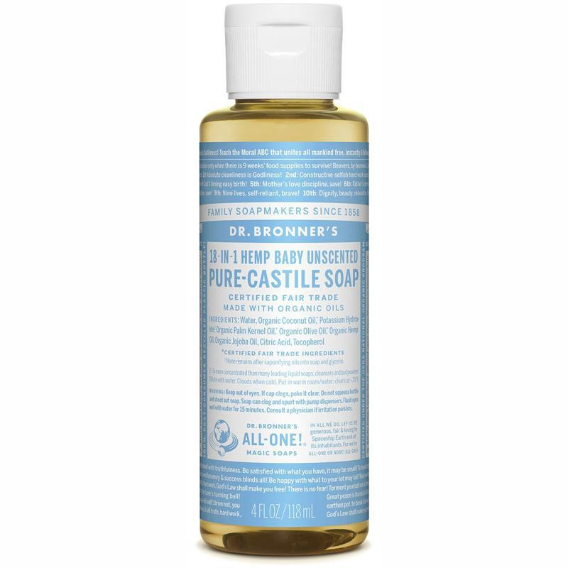 Pure- Castile Liquid Soap - Baby Unscented