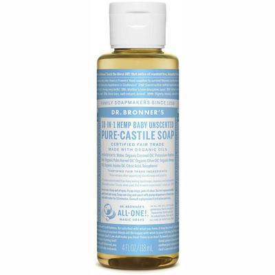 Pure-Castile Liquid Soap - Baby Unscented