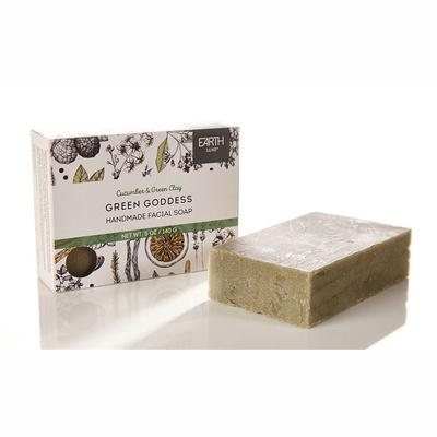 Earth Luxe Green Goddess Nearly Natural Facial Soap
