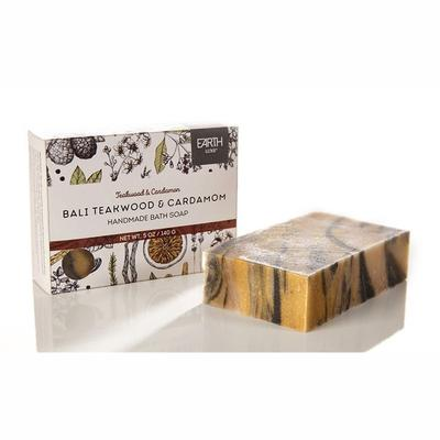 Bali Teakwood and Cardamom Nearly Natural Bath Soap