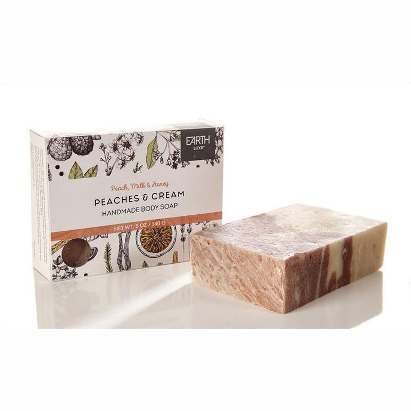 Peaches And Cream Nearly Natural Body Soap