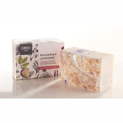 Himalayan Pink Salt and Bulgarian Lavender All Natural Exfoliating Spa Bar Soap