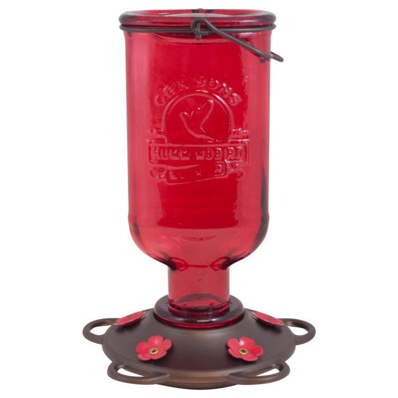More Birds 13 Oz.Elixir Hummingbird Feeder