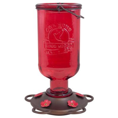 More Birds 13 oz. Elixir Hummingbird Feeder