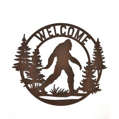 Bigfoot Design Wall Sign