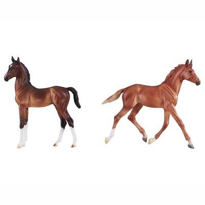 Best of British Foal Set - Thoroughbred & Hackney