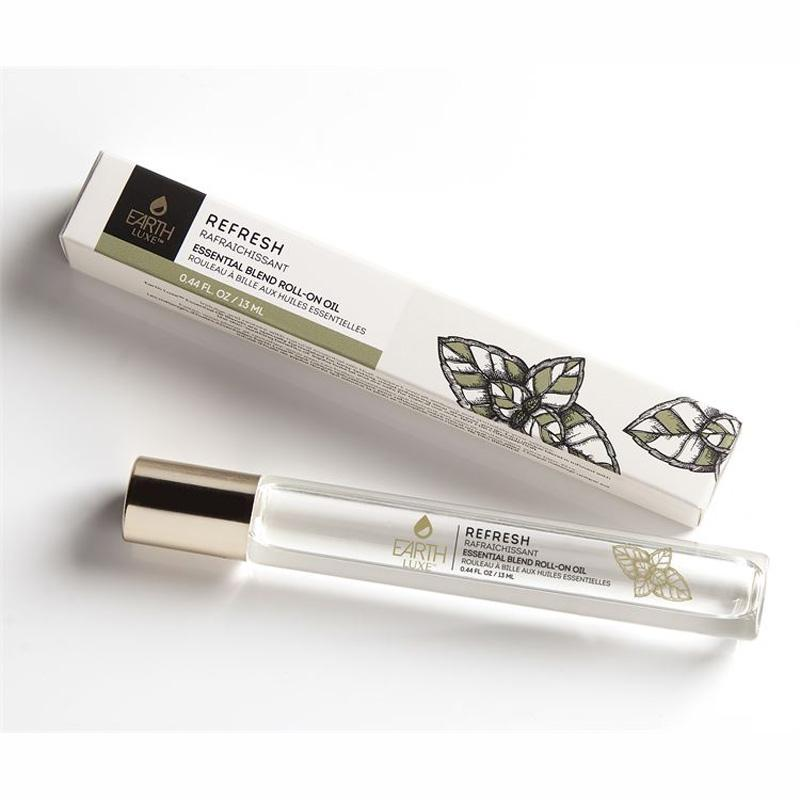 Earth Luxe Roll- On Essential Oil - Refresh