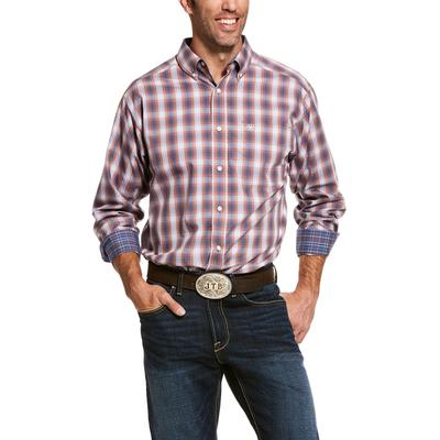 Men's Wrinkle Free Valero Classic Fit Shirt