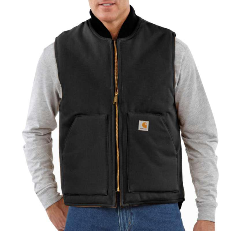 Men's Duck Vest/Arctic- Quilt Lined