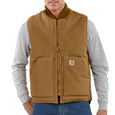 Men's Duck Vest / Arctic-Quilt Lined