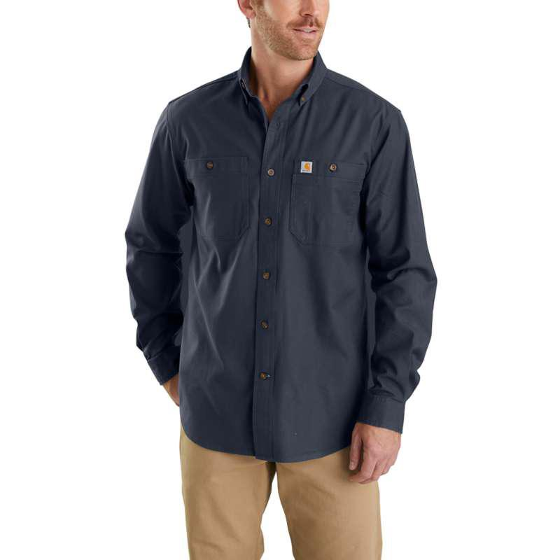 Men's Rugged Flex Rigby Long- Sleeve Work Shirt