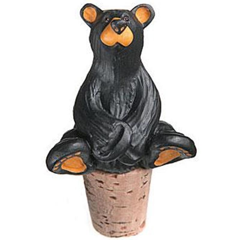 Bear Wine Stopper