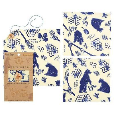Lunch Pack In Bees and Bears Print