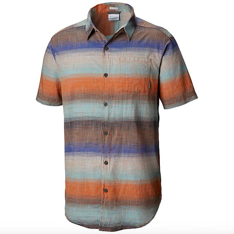 Men's Under Exposure ™ Yarn- Dye Short Sleeve Shirt