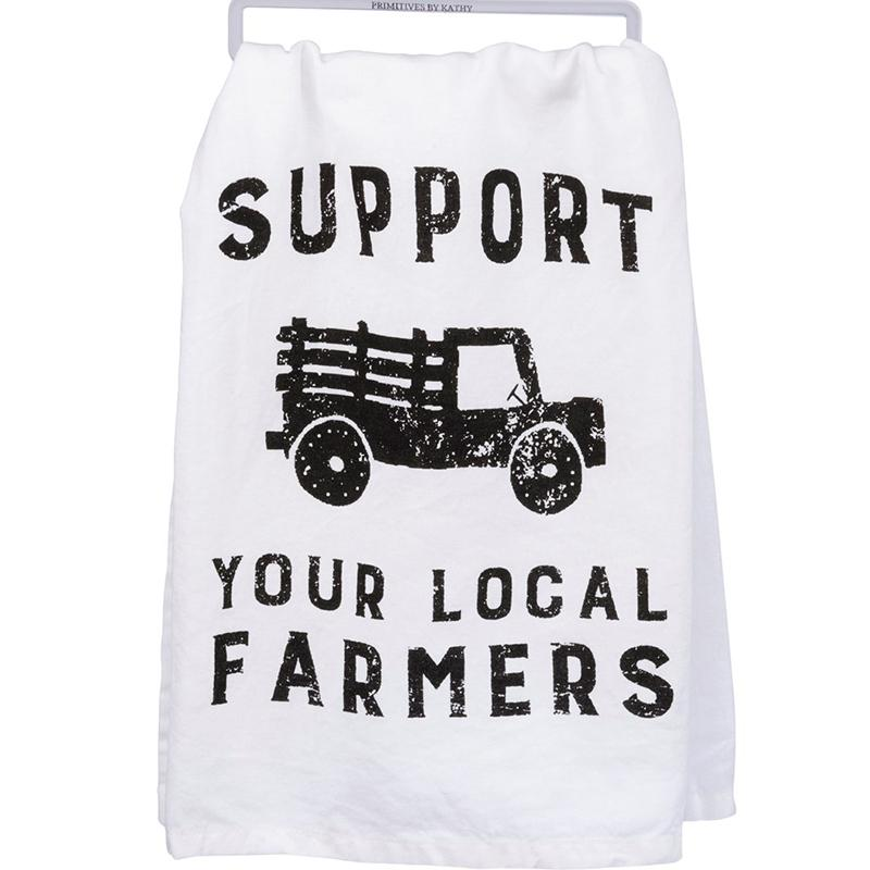 Dish Towel - Support Your Local Farmers