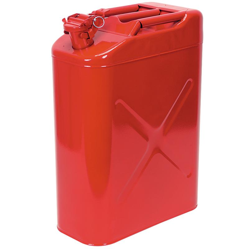 20 Liter Military Style Fuel Can - Red